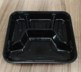 4-Compartment Obentos/o recipiente de alimento plástico micrôonda do fast food/levam embora