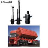 Único cilindro hidráulico telescópico ativo de FC para o caminhão de descarga
