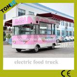 Móvil eléctrico carretilla expendedoras de alimentos