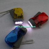 Torcia elettrica della dinamo del LED