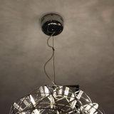 Moderner runder Edelstahl-hängende Lampe für Hotel-Projekt