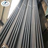 Programação 40 da tubulação de aço da Senhora Sem emenda Preto para a construção