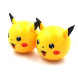 2018 amarelo de boa qualidade Pikachu Moedor de ervas com 3 camadas
