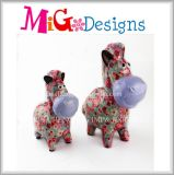 Best Selling Lovely Pink Piggy Bank Set Céramique