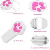 Paw Style Cat Catch The Interactive LED Light Pointer Exercício Chaser Toy LED Light Pointer Pet Scratching Training Tool