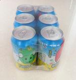 Máquina automática da película de embalagem do Shrink para latas de bebida