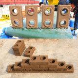 Machine de moulage de verrouillage de brique de l'argile Ly4-10