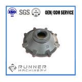 Peças revestidas da carcaça de areia da resina ferro moldado/Ductile/cinzento de maquinaria de construção da fundição de ferro