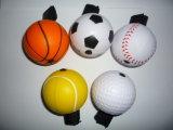 PU souligner ball balle en mousse de Soccer Yo-Yo Design