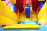 Corsa ad ostacoli gonfiabile commerciale fatta funzionare per i bambini Chob530