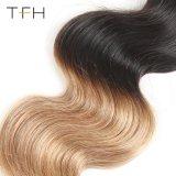 Virgem brasileira Huaman Cabelos Omber tecem 1B/27 Onda Corpo Remy Extensões de cabelo cabelos de dois tons (TFH18)