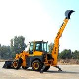 Backhoe van de Macht van de lage die Prijs 60kw Lader in China wordt gemaakt