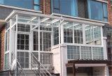 Populair Aluminium Sunroom met het Grote Vouwen Dor