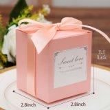Festa de Casamento aniversário Favor, casamento dom doces de chocolate sacos e caixas de Oferta Suite Chuveiro parte caixa de oferta de papel
