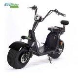 Ecorider 60V 1000Wのリチウム電池の電気スクーター2の車輪