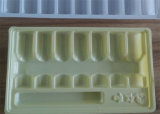 Frasco de medicina Bandeja descartáveis de plástico ou placas de máquina de termoformação