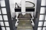 Fresadora del pequeño de 600*600m m del molde de la marca corte del CNC