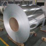 Le zinc de la pente ASTM-A653 a enduit la bobine en acier galvanisée pour la construction