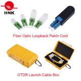 PC / Upc / APC Sc / LC / FC / St / Mu / MTRJ / E2000 Cordon de connexion multimédia à fibre optique multimode Simplex Duplex