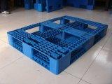 Seis Skids Euro paletes de plástico de grade de design em tamanhos de 80X120cm