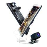 9.88 Espelho Retrovisor da Tela de Toque Gravador Monitor HD 1080P Carro Dash Câmara para a Segurança Automóvel