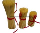 Espremedores de bambu redondos de churrasco