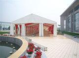 Weiße Belüftung-Dachspitze-Luxuxim freienereignis-Zelt-Hochzeitsfest-Zelt