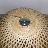 Chinesische Art-Hotel Decoeative natürliche Eichen-rundes Holz-hängende Lampe
