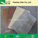 Panneau de mur chaud de poids léger de ciment de fibre de texture de Faux de vente