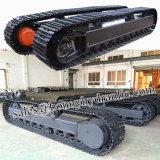Kundenspezifisches Stahlfahrgestell der spur-45t/Steelcrawler Fahrgestell von der China-Fabrik