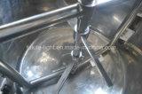 Mélangeur de détergent électrique à vide en acier inoxydable