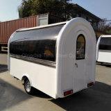 Camion alimentaire en acier inoxydable avec un équipement pour l'alimentation chariot