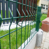 庭のための粉Coated Ral6005 Welded Wire Mesh Fence
