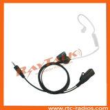 Ricevitore telefonico libero acustico del tubo per la radio bidirezionale della radio Pkt-23 Protalk