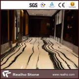 De Chinese Marmeren Steen van de Plak van de Panda Witte Marmeren