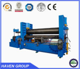 Machine à cintrer de plaque universelle supérieure hydraulique de rouleau