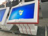 Plancher de 55 pouces écran tactile à commandes de lecture 3G