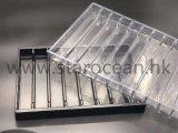 ギフトの紙箱Displasyのための黒いPSのプラスチック包装の皿