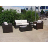 Almofada macia personalizados impermeável jardim exterior de vime sofá (FS-3101+3102+3103+3104+3105)
