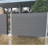 Rete fissa di legno materiale del giardino di WPC Plasticcomposite