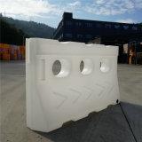 Barricada provisória do plástico da barricada da segurança de construção das barricadas da barricada rotatória branca da segurança de tráfego