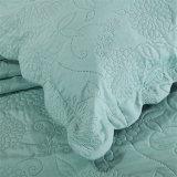 Reeks van het Beddegoed van het Bed van de Bladen van de Dekbedden van de polyester de Ultrasone