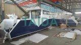 Het kust Jacht van de Sport van de Reis van de Snelheid van de Visserij van het Aluminium van de Catamaran Zee