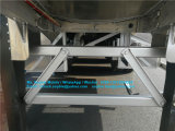 45000litros del depósito de aceite de aluminio, de gran capacidad de remolque remolque cisterna de combustible para la venta