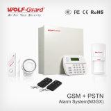 Sistema de alarme GSM com Detector de vidro da porta de fumaça de incêndio