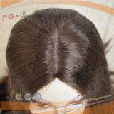 100% Cabello Humano Exquisito encaje peluca (PPG-L-02018)