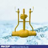 La Cina Welded/Flange Type Carbon Steel Fully Welded Ball Valve per Low Pressure Pipe/Gas/Water/oil