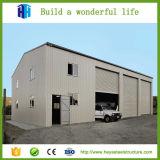 Niedrige Kosten-Fabrik-Werkstatt-flaches Dach-Fertigstahlgebäude