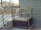 300 кг простота в эксплуатации горячая продажа вертикального гидроподъемник ножничного типа Таблица платформы коляску с низкой цене