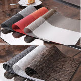 주문을 받아서 만들어진 디자인 폴리에스테 및 PVC 물자 대중음식점 식탁용 접시받침